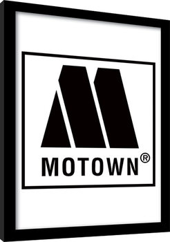 MOTOWN records - Logo Kehystetty juliste