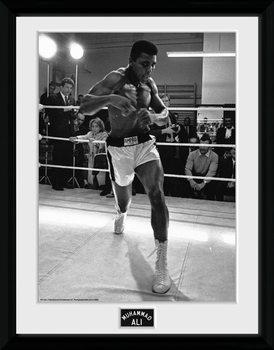Muhammad Ali - Shadow Box kehystetty lasitettu juliste