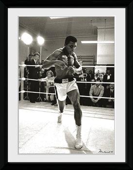 Muhammad Ali - Spar kehystetty lasitettu juliste