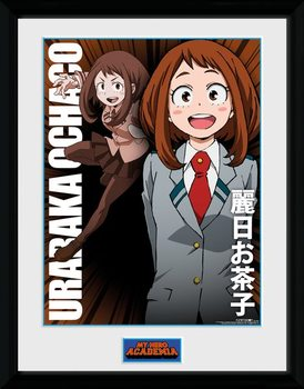 My Hero Academia - Uraraka Ochako Kehystetty juliste