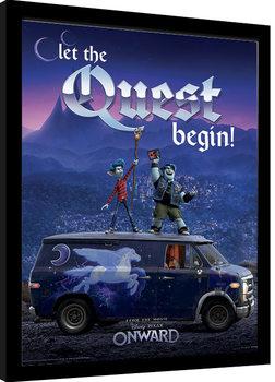Kehystetty juliste Onward (Eteenpäin) - Guinevere Quest