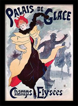 Palais de Glace - Champs Elysées  kehystetty lasitettu juliste