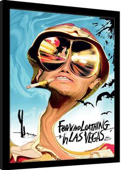 Pelkoa ja inhoa Las Vegasissa Kehystetty juliste