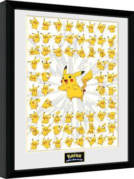 Kehystetty juliste Pokemon - Pikachu