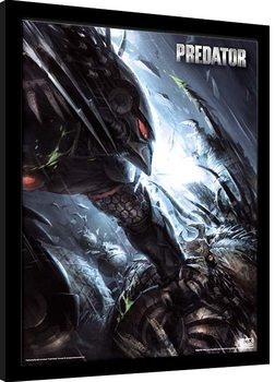 Predator - The Hunter Becomes The Hunted Kehystetty juliste