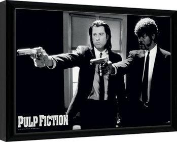 Kehystetty juliste PULP FICTION - guns