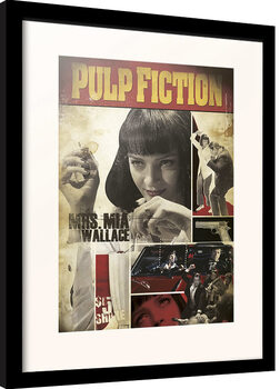 Kehystetty juliste Pulp Fiction - Mia