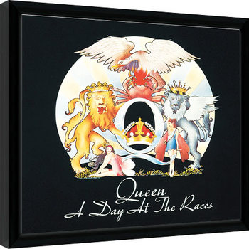 Queen - A Day At The Races Kehystetty juliste