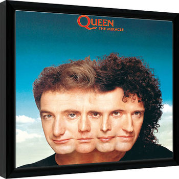 Queen - The Miracle Kehystetty juliste