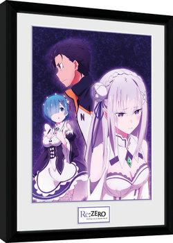 Re-Zero - Trio Kehystetty juliste