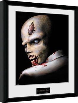 Resident Evil - Zombie Kehystetty juliste
