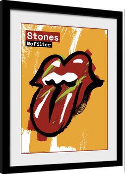 Kehystetty juliste Rolling Stones - No Filter