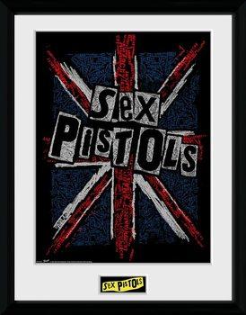 Sex Pistols - Flag Kehystetty juliste