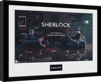 Sherlock - Rising Tide Kehystetty juliste