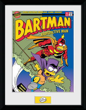 Simpsonit - Bartman Kehystetty juliste