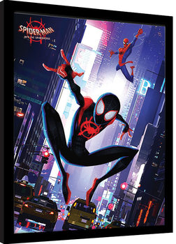 Spider-Man: Into The Spider-Verse - Swing Kehystetty juliste