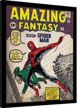 Kehystetty juliste Spider-Man - Issue 1