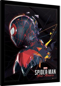 Kehystetty juliste Spider-Man Miles Morales - System Shock
