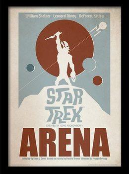 STAR TREK - arena Kehystetty juliste