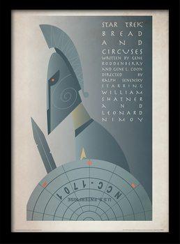 Star Trek - Bread and Circuses Kehystetty juliste