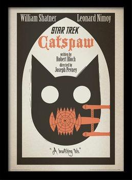 Star Trek - Catspaw Kehystetty juliste