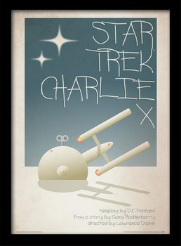 Star Trek - Charlie X Kehystetty juliste