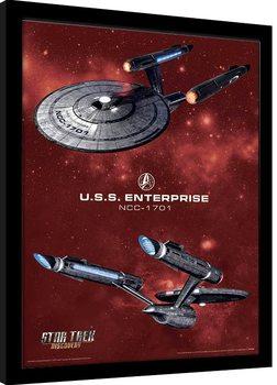 Star Trek: Discovery - Pike's Enterprise Kehystetty juliste