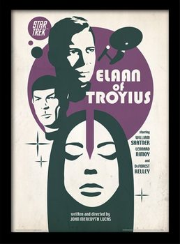 Star Trek - Elaan Of Troyius Kehystetty juliste