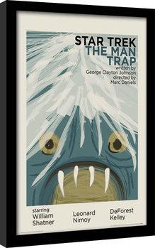 Star Trek - The Man Trap Kehystetty juliste
