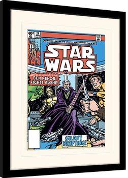 Star Wars - Ben Kenobi Fights Alone Kehystetty juliste