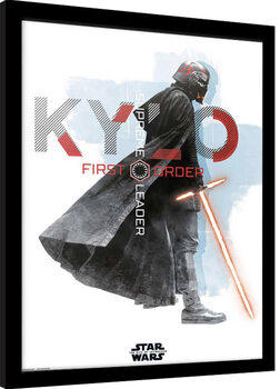 Kehystetty juliste Star Wars: Episode IX - The Rise of Skywalker - Kylo Ren