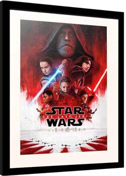 Kehystetty juliste Star Wars: Episode VIII - The Last of the Jedi - One Sheet