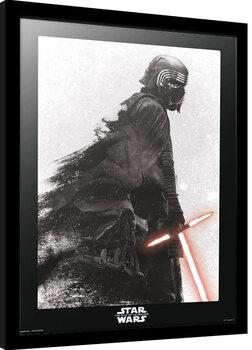 Kehystetty juliste Star Wars: Episodi IX: The Rise Of Skywalker - Kylo Ren