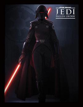 Star Wars: Jedi Fallen Order - Inquisitor Kehystetty juliste