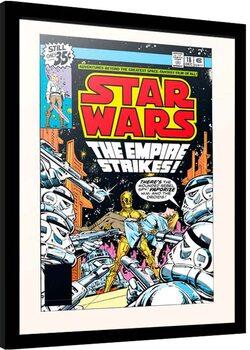 Kehystetty juliste Star Wars - The Empire Strikes!