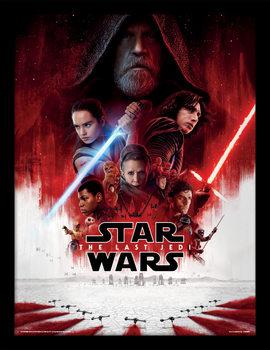 Star Wars The Last Jedi - One Sheet Kehystetty juliste