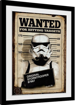 Stormtrooper - Mug Shot Kehystetty juliste
