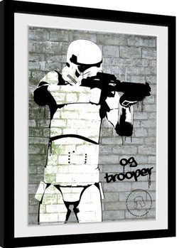 Stormtrooper - Spray Kehystetty juliste