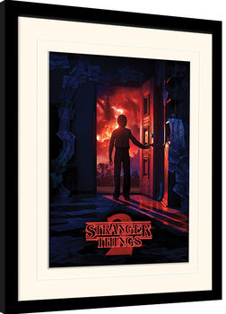 Stranger Things - Doorway Kehystetty juliste