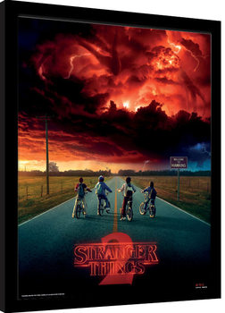 Stranger Things - Mind Flayer Kehystetty juliste