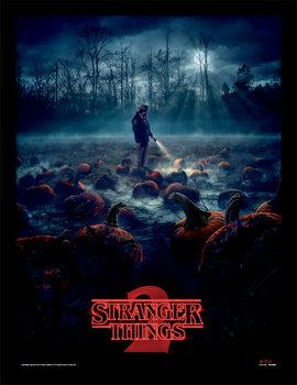 Stranger Things - Pumpkin Patch Kehystetty juliste