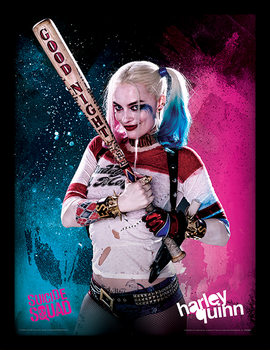 Kehystetty juliste Suicide Squad - Harley Quinn