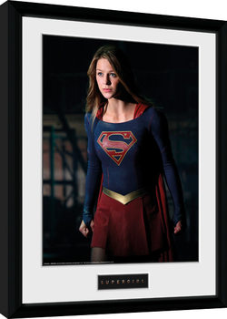 Supergirl - Stand Kehystetty juliste