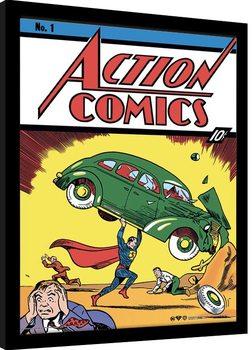 Superman - Action Comics No.1 Kehystetty juliste