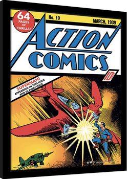 Superman - Action Comics No.10 Kehystetty juliste