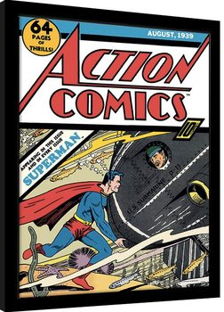 Superman - Submarine Struggle Kehystetty juliste