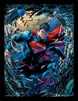 Superman - Unchained Kehystetty juliste