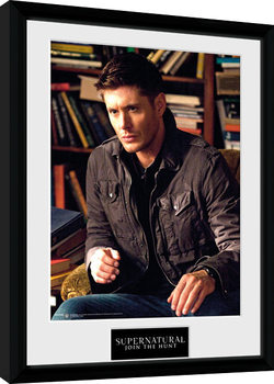 Supernatural - Dean Kehystetty juliste