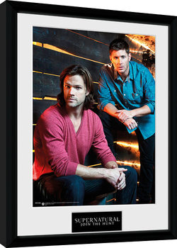 Supernatural - Sam and Dean Kehystetty juliste