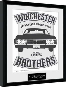 Supernatural - Winchester Kehystetty juliste